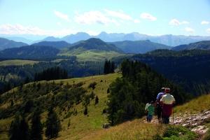 Wandern am Wolfgangsee