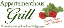 Appartementhaus Grill in Strobl am Wolfgangsee Logo